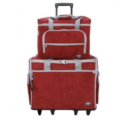 Maleta-trolley-rojo